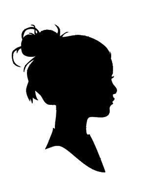 silhouette-visage-femme