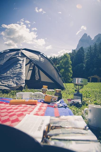 Camping soleil